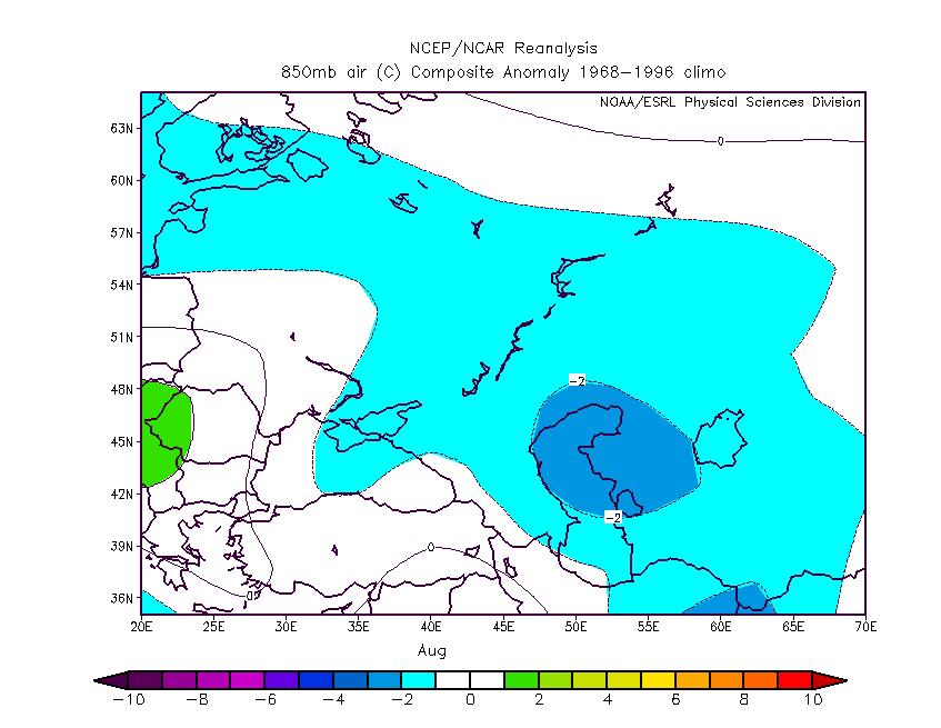 Прогноз погоды в Оренбурге на август 2 15 года